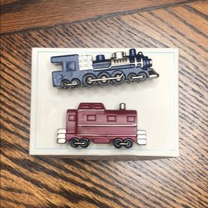 Pottery Barn Kids Train Knobs Drawer Pull set of 2